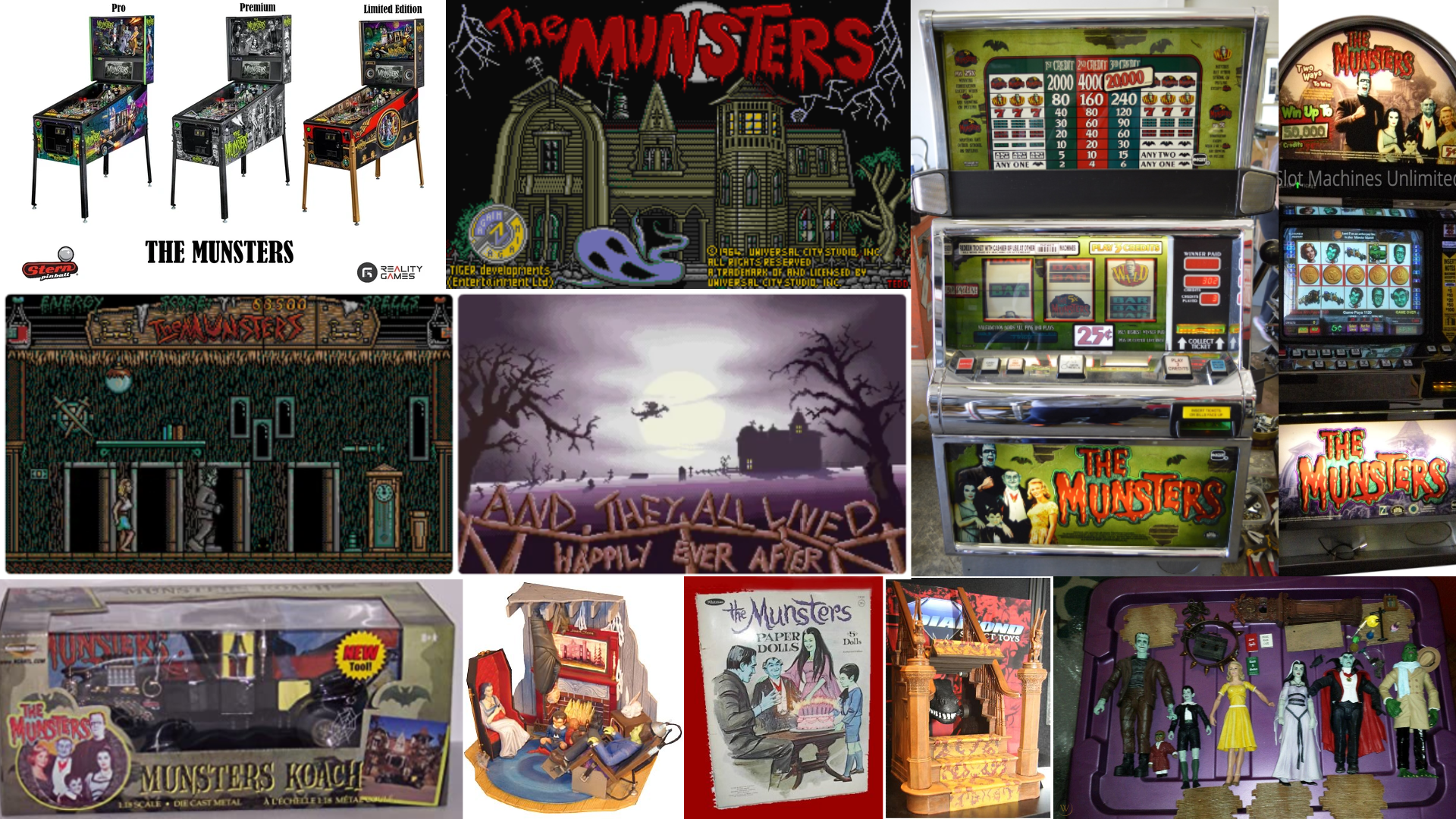 Munsters Products