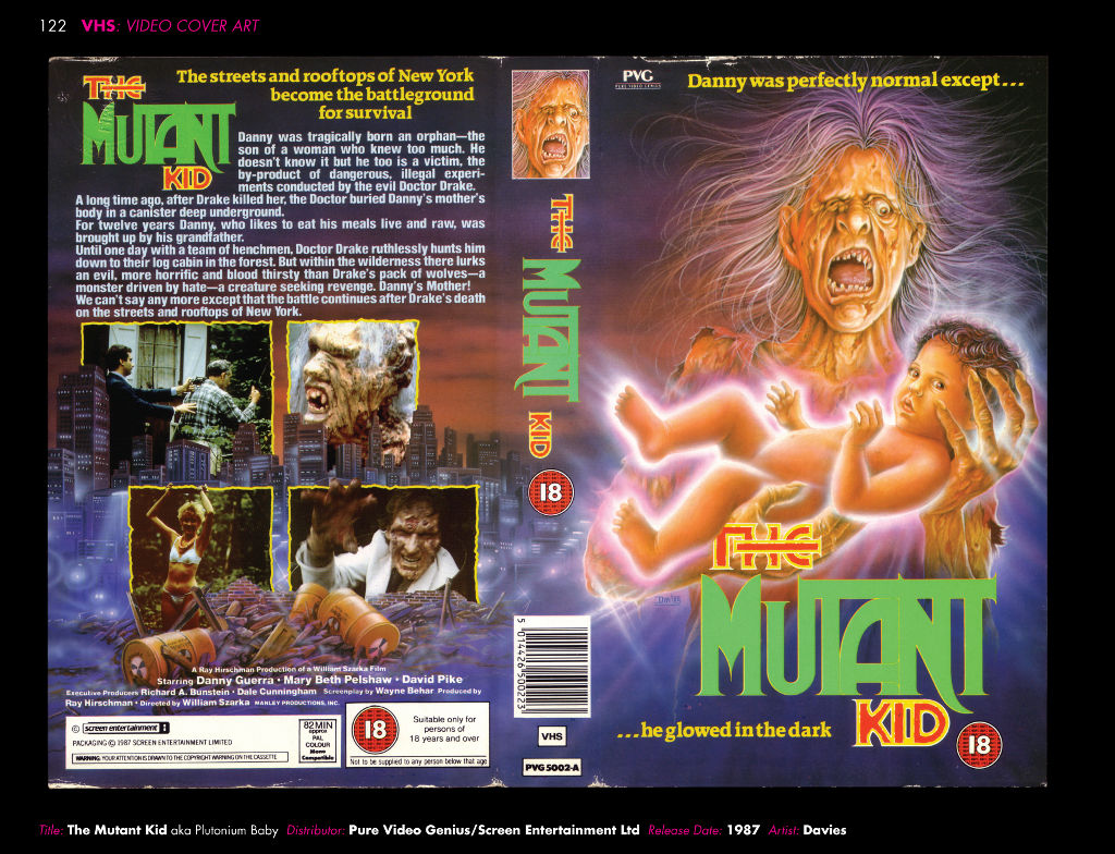 VHS Video Cover Art