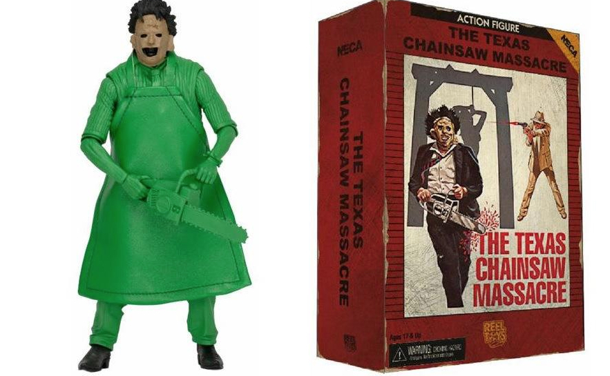 NECA Green Leatherface Video Game Action Figure