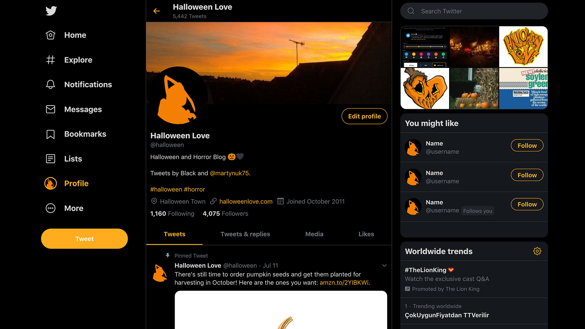 Twitter Redesign 2019