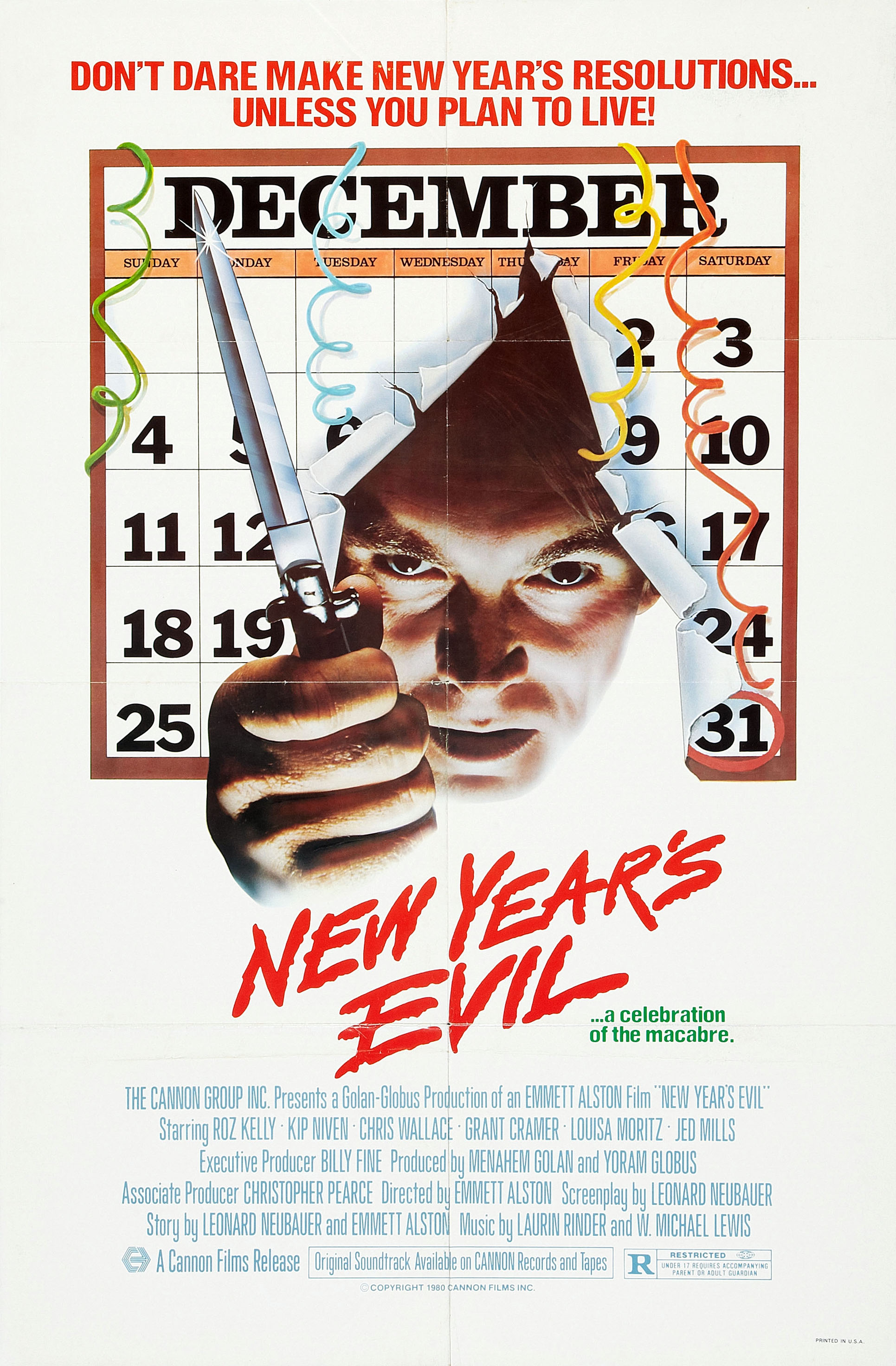 Movie Review New Year S Evil 1980 Halloween Love