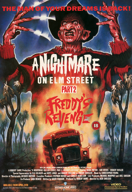 Nightmare on Elm Street 2 Art