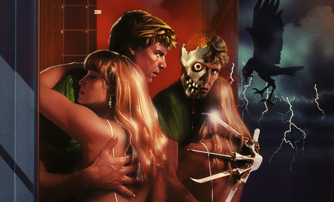 Nightmare On Elm Street 2 Poster Art