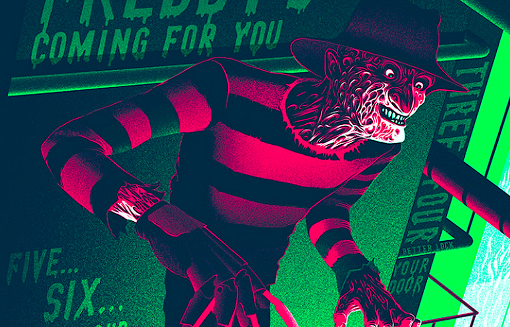 A Nightmare on Elm Street Alternative Poster Art List