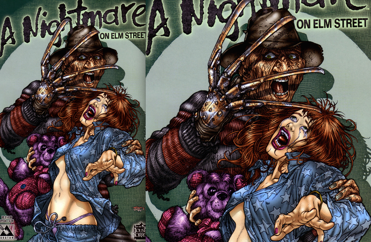 A Nightmare On Elm Street Special : Glow Variant Cover Art