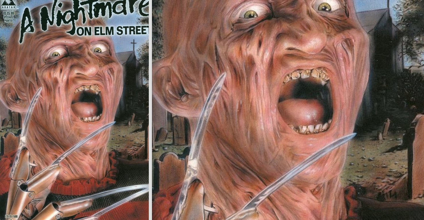 A Nightmare On Elm Street Special : Painted Variant Cover