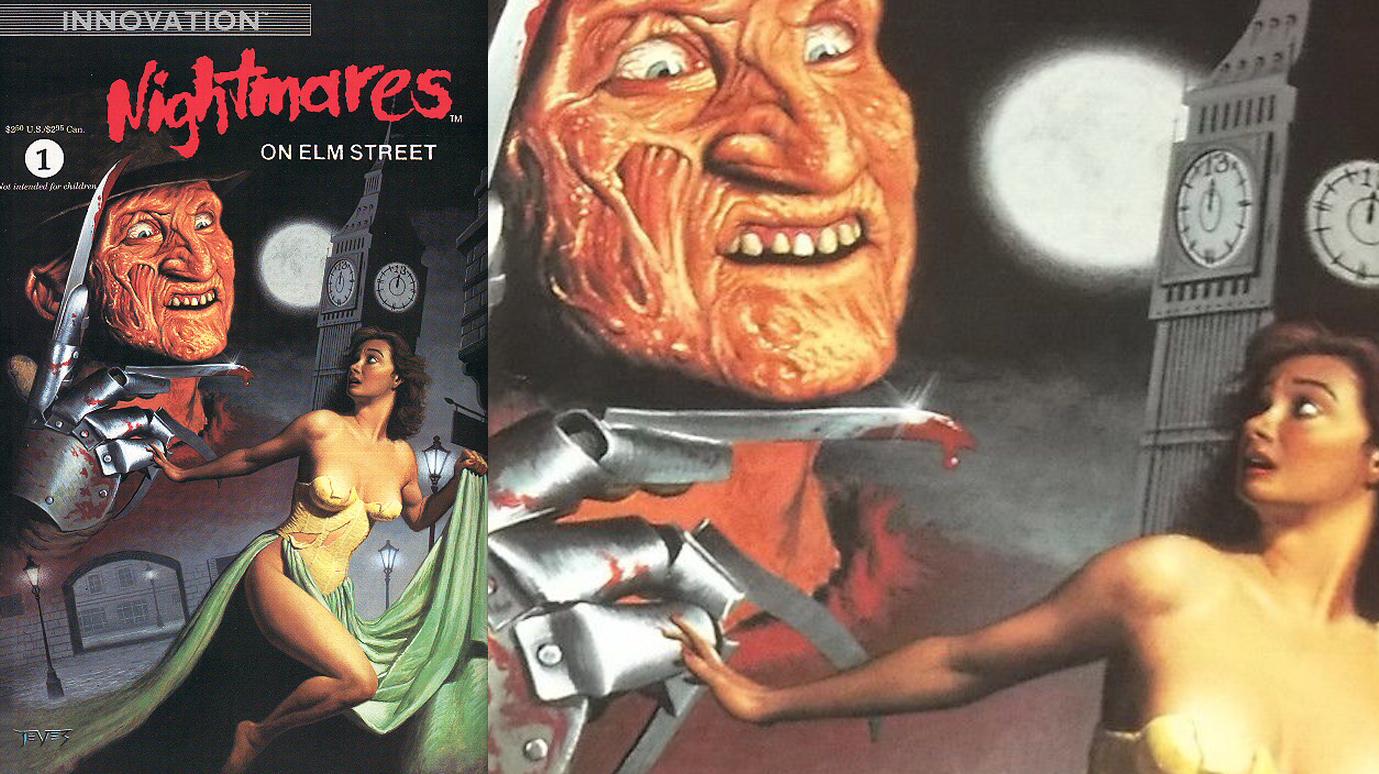 Nightmares on Elm Street 1 : Painted Cover Art