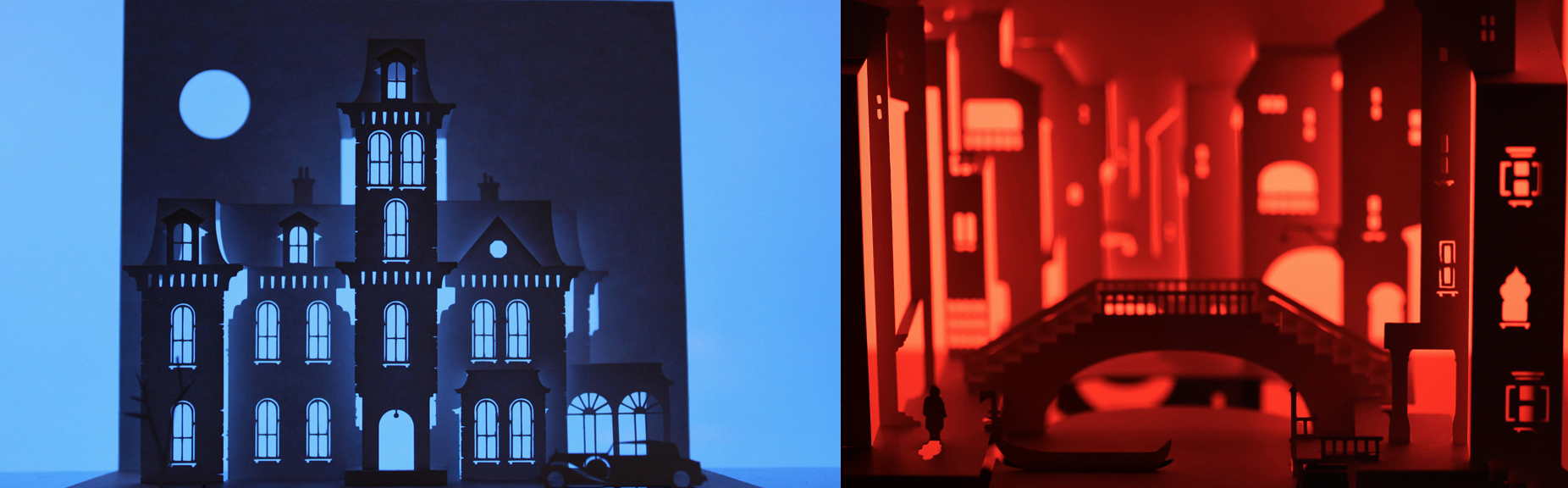 Horrorgami : The Addams Family and Don't Look Now