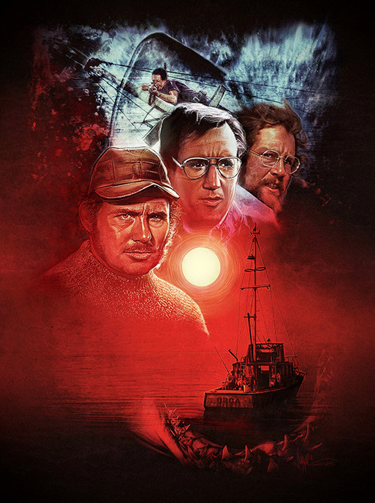 Paul Shipper Jaws Poster