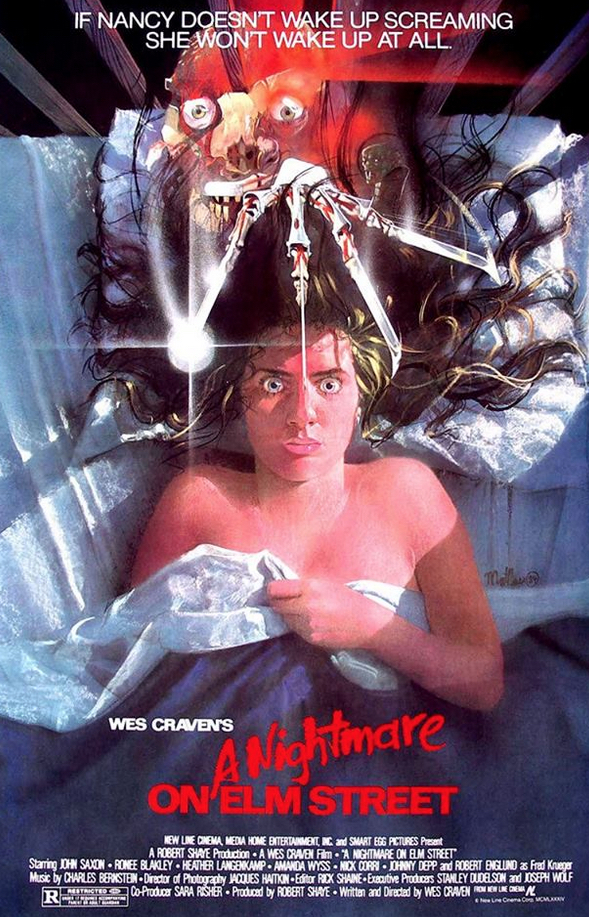 Nightmare On Elm Street Peak Poster Art