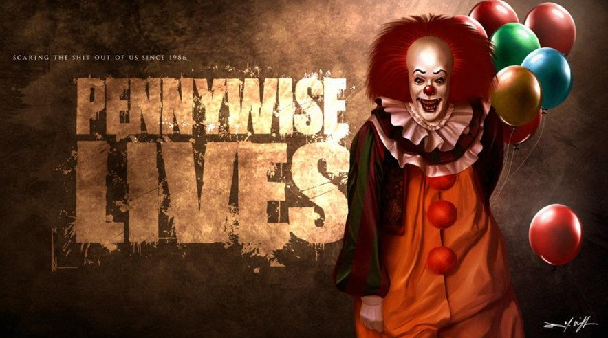 Pennywise Lives Art
