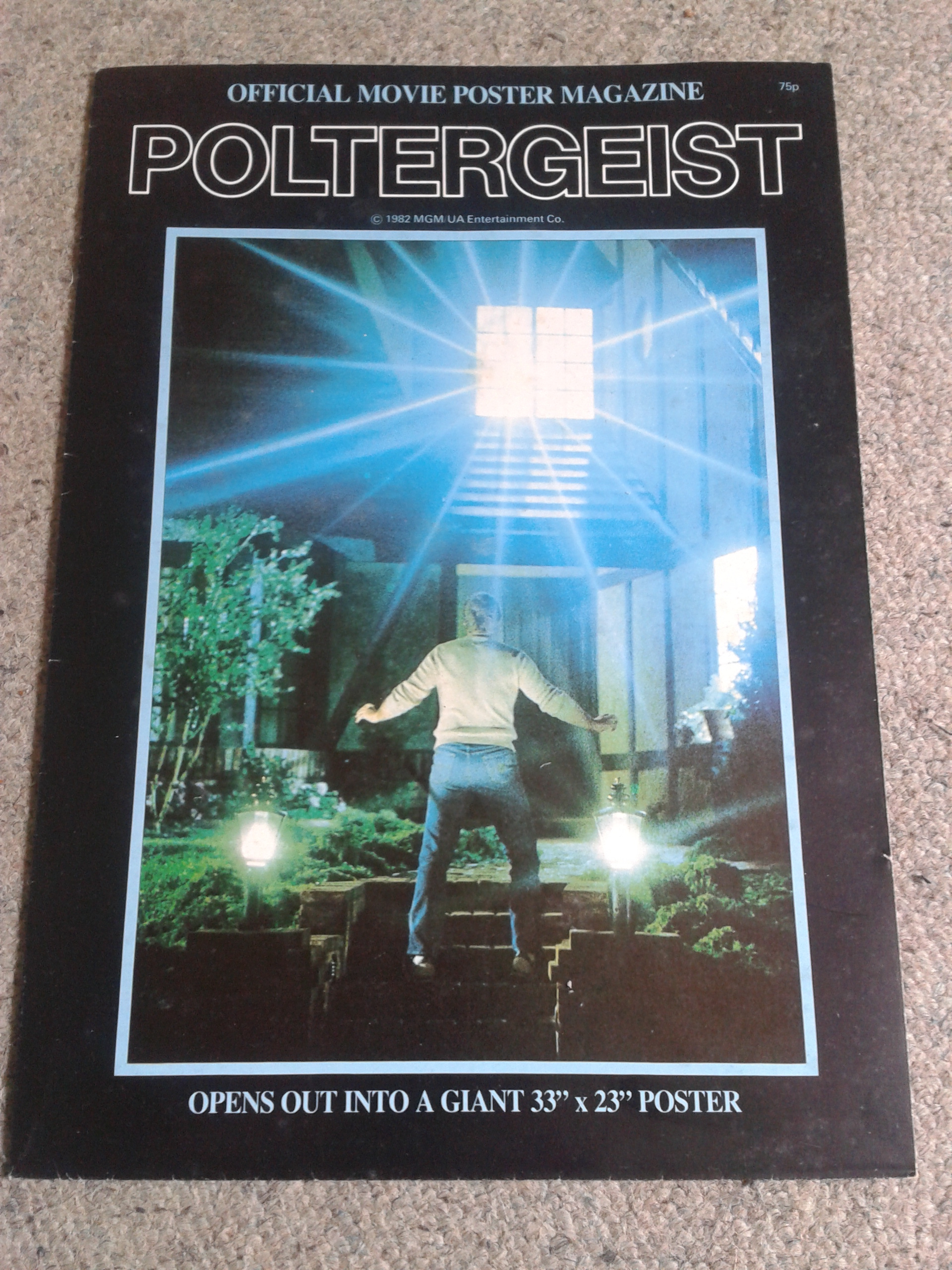 Poltergeist Poster Magazine Front Cover