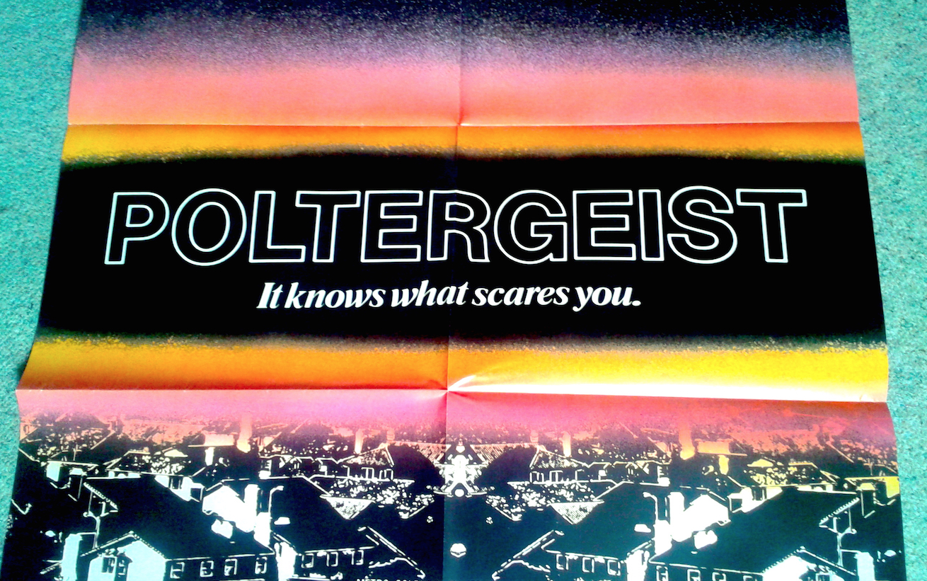 Poltergeist Poster Magazine Review Halloween Love