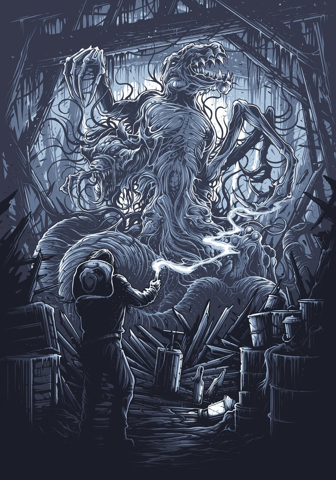 Best Poster Art 2016 - The Thing Dan Mumford