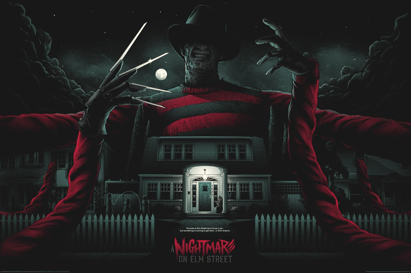 Best Poster Art 2016 - Nightmare on Elm Street Matt Ryan Tobin