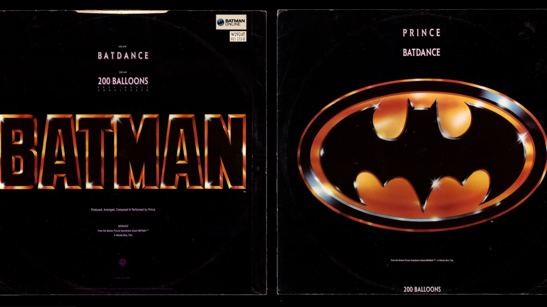 Prince Batman Soundtrack