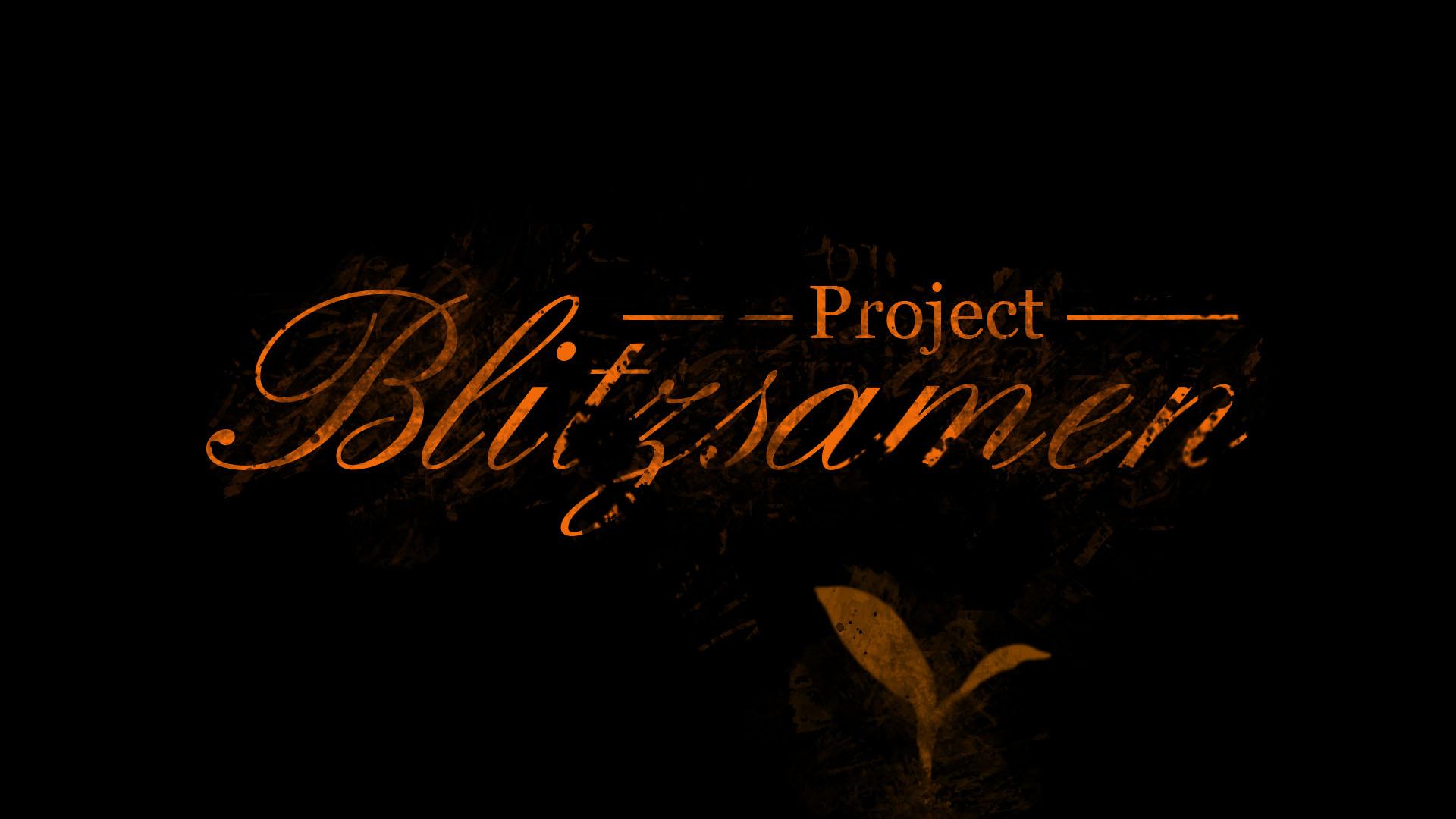 Project Blitzsamen