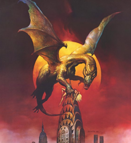 Q The Winged Serpent Poster Art
