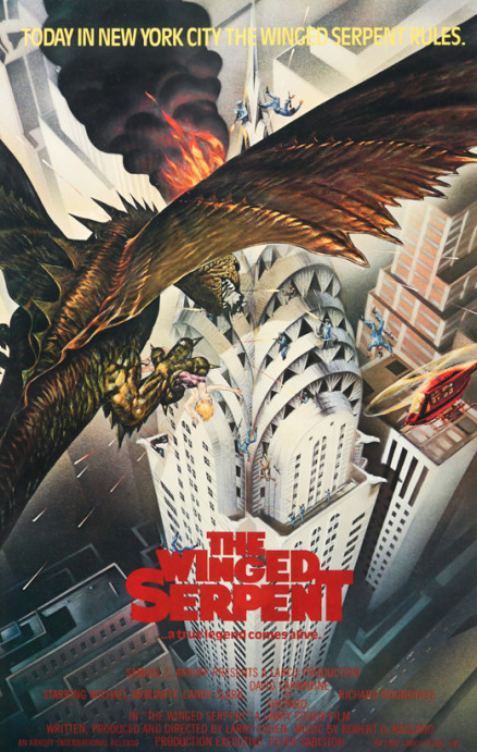 Q The Winged Serpent Poster
