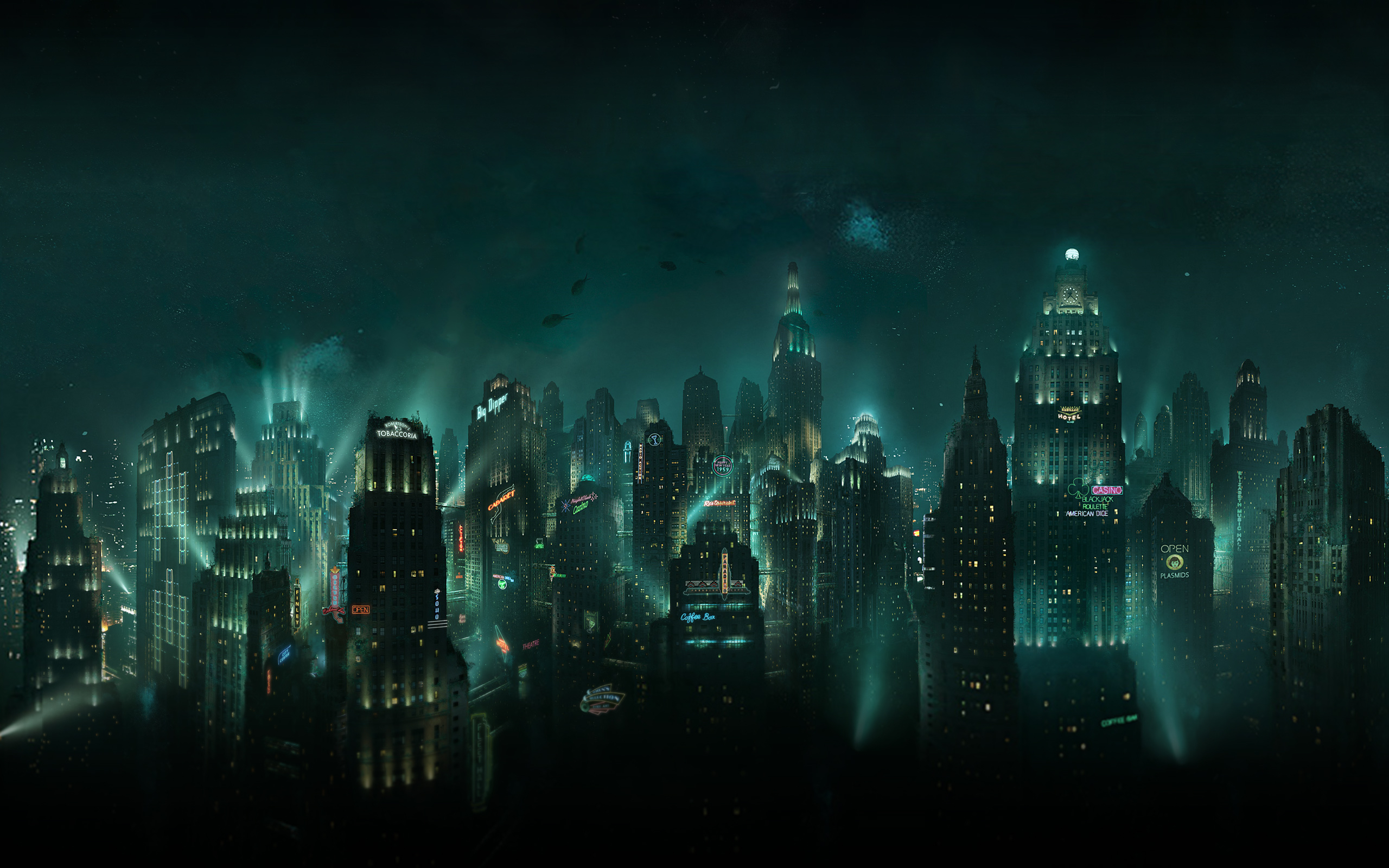 The underwater city of Rapture