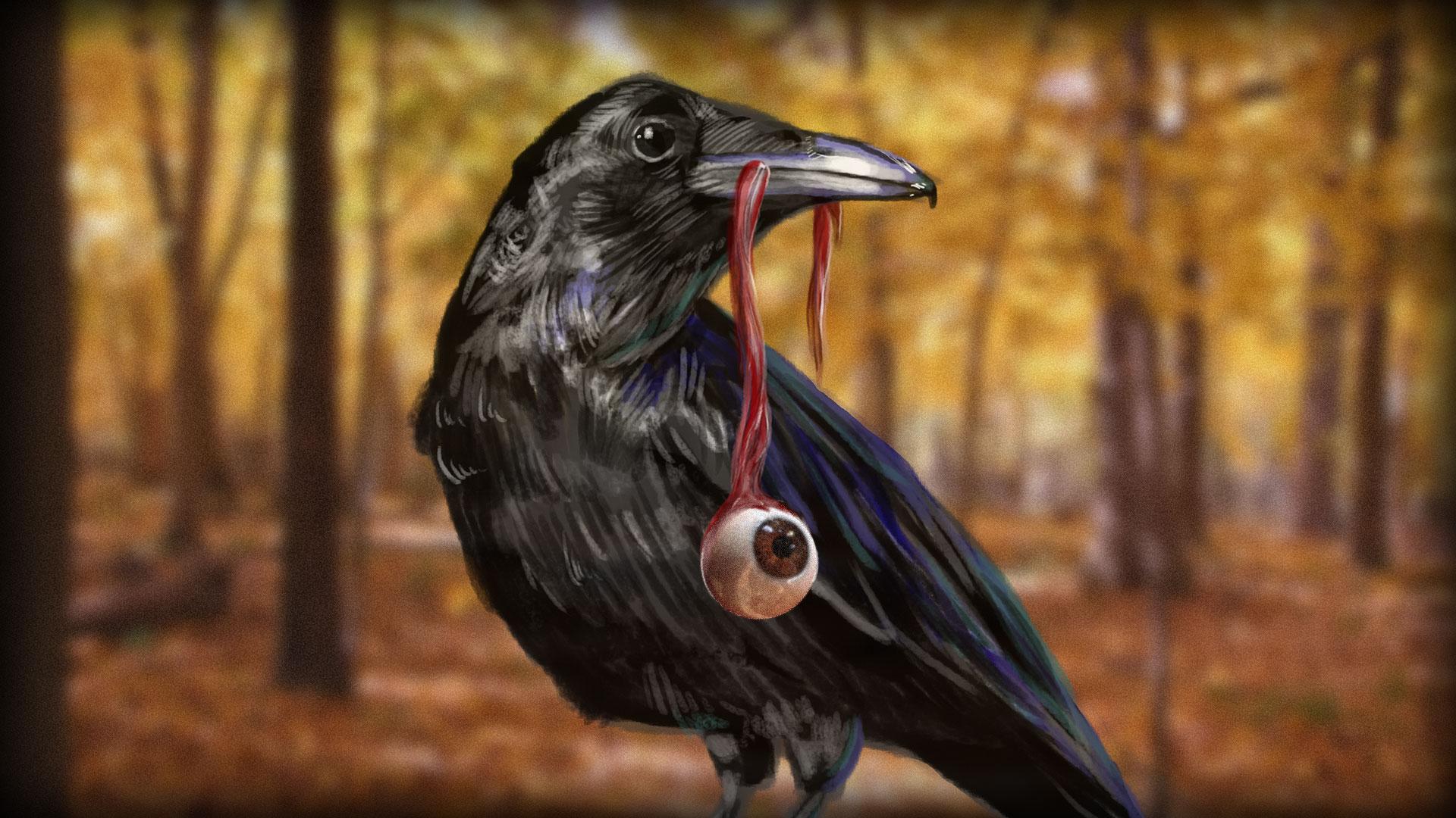 Raven Custom Art by Ross