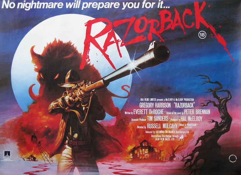 Razorback Quad Poster.