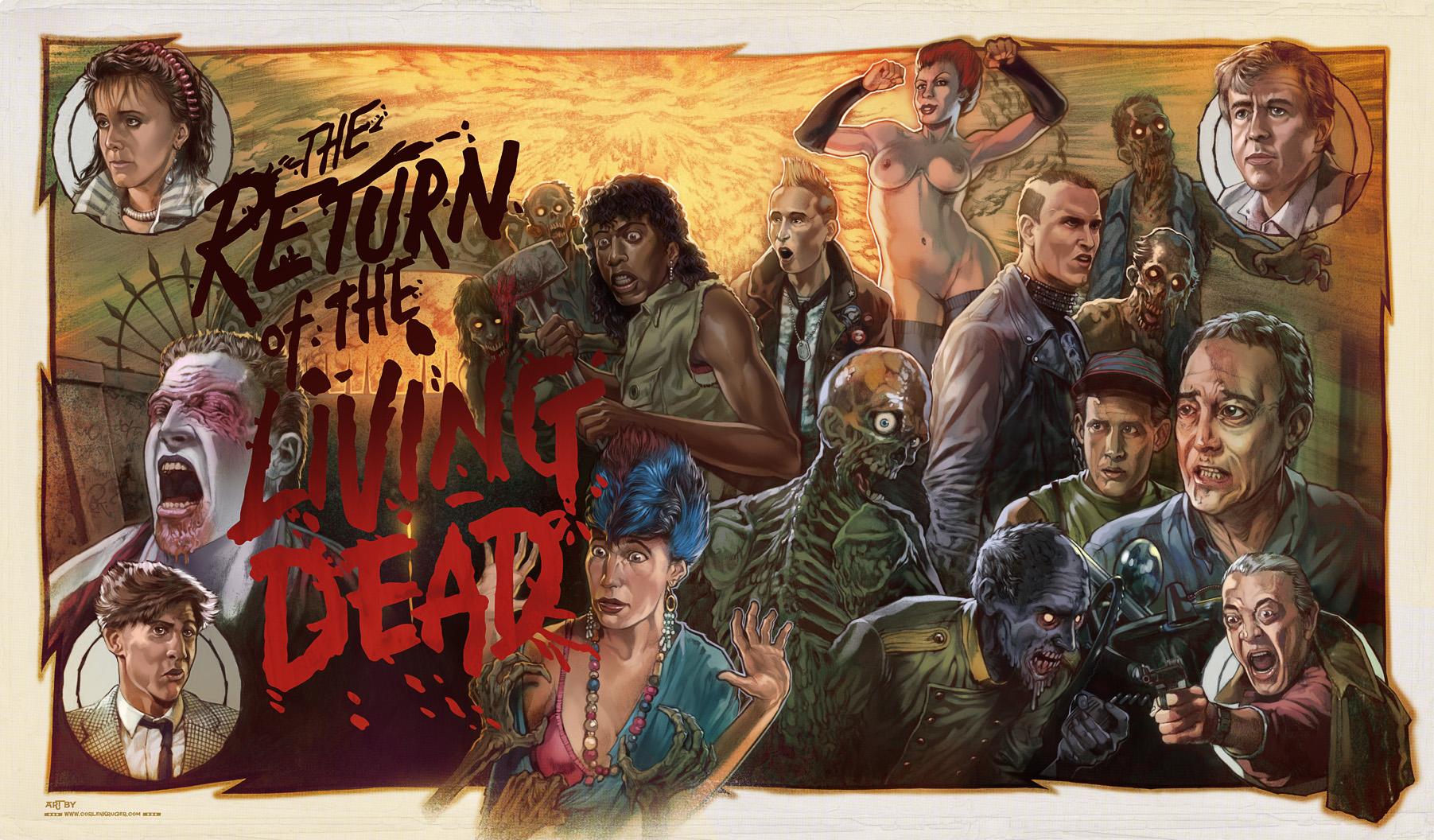 Return of the Living Dead toys