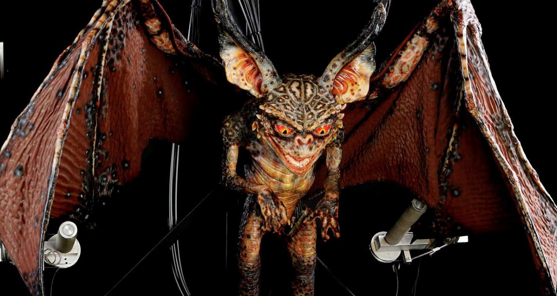 Rick baker Bat Gremlin Puppet