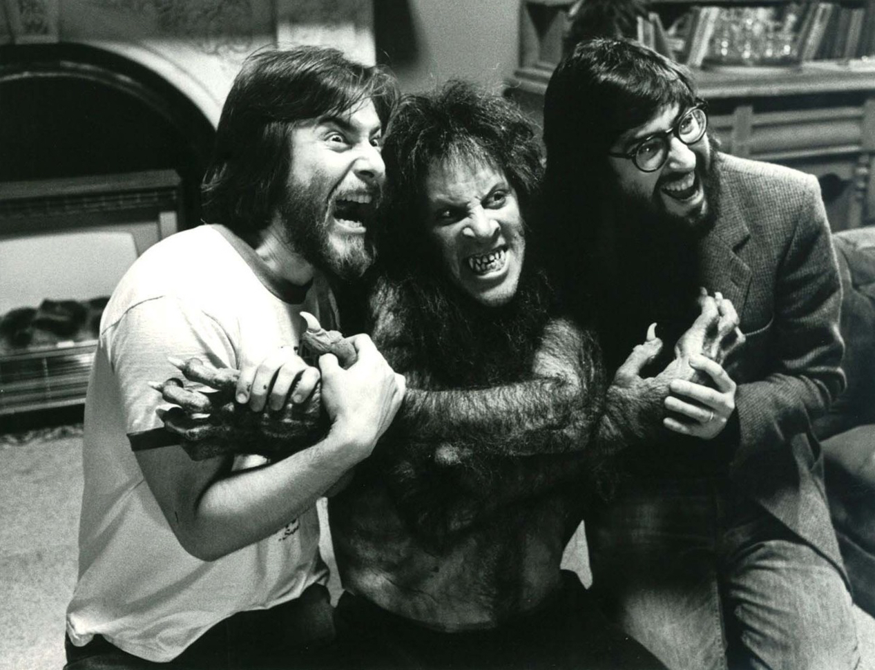 Rick Baker Working On American Werewolf In London - Pic 2.