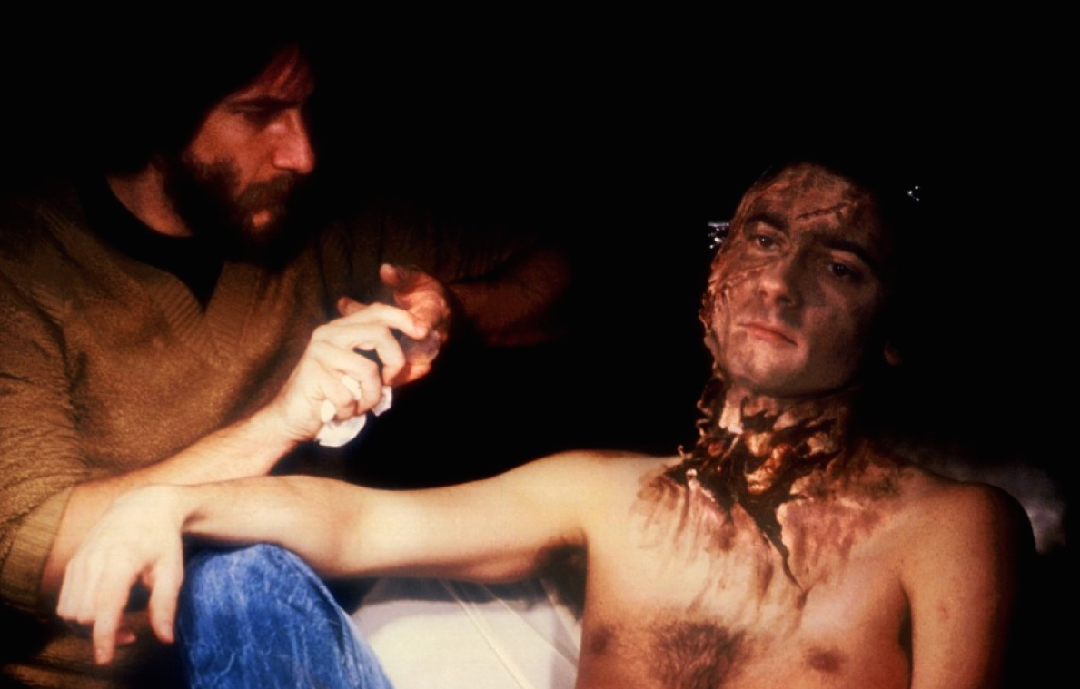 Rick Baker Working On American Werewolf In London - Pic 3.