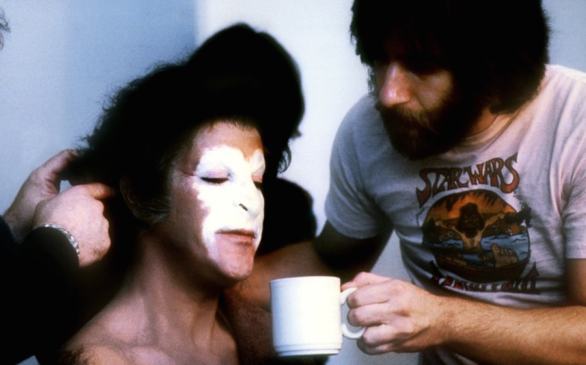 Rick Baker Working On American Werewolf In London - Pic 4.