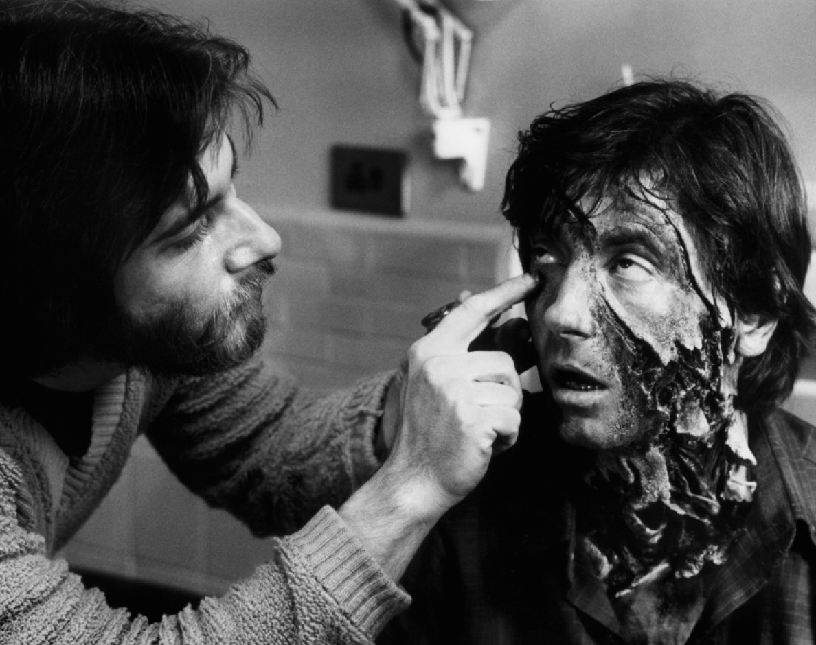 Rick Baker Working On American Werewolf In London - Pic 5.