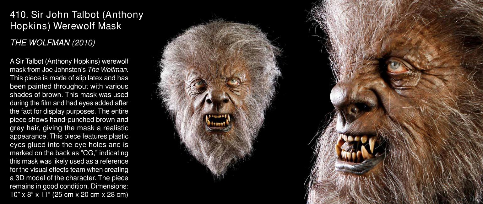 Rick Baker Werewolf Mask