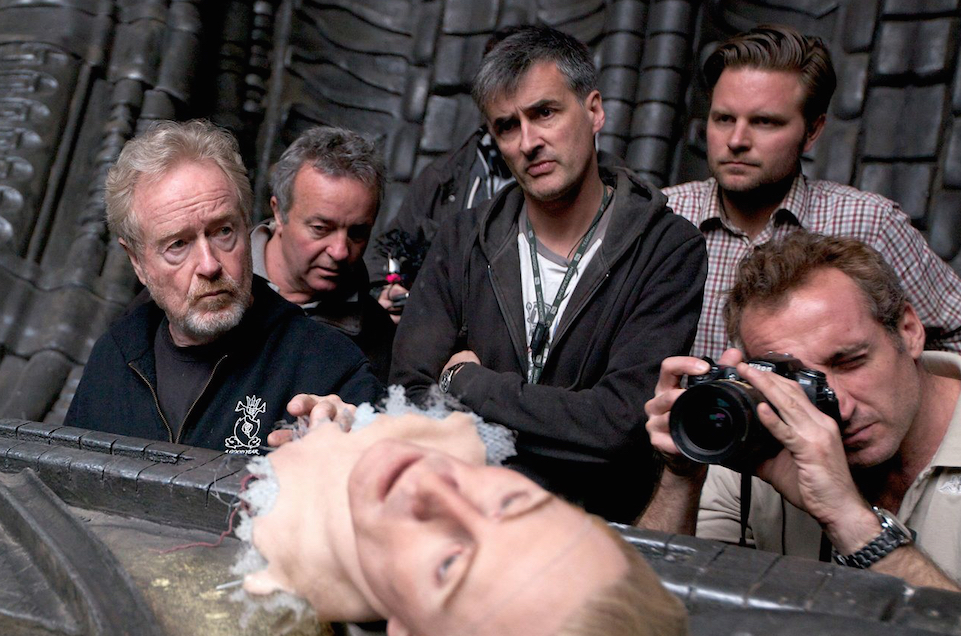 Ridley Scott Working On Prometheus