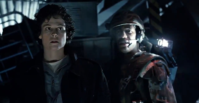 Ripley And Frost Aliens