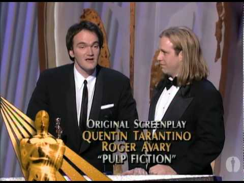Roger Avery Winning Oscar