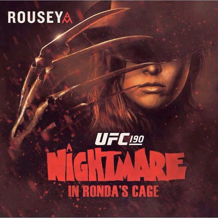 Ronda Rousey horror