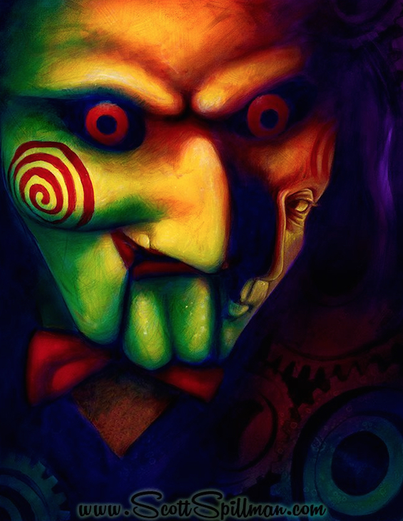 Alternative Art -  SAW Movie Scott Spillman