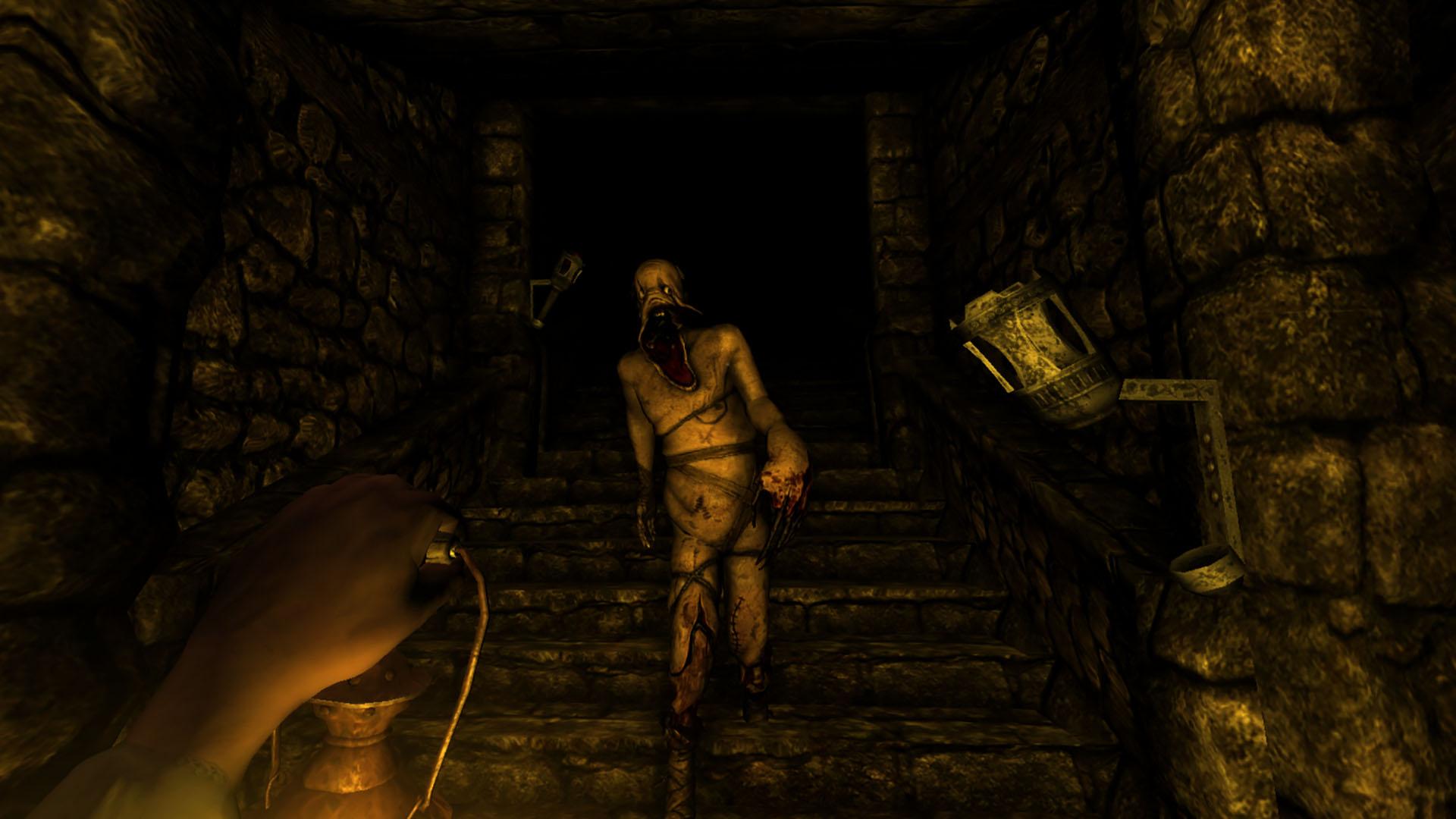 Scary Games Amnesia
