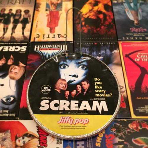 Scream popcorn