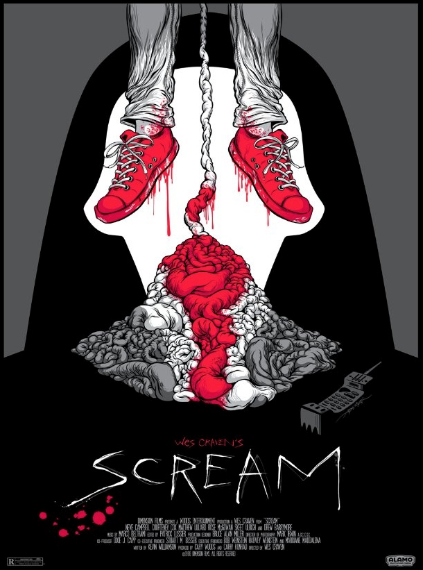 Poster Art List : Scream Alex Pardee