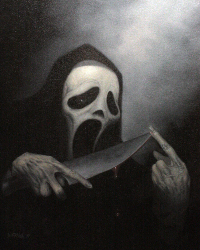 Poster Art List : Scream Dan Harding