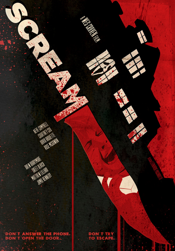 Poster Art List : Scream Leonardo Paciarotti