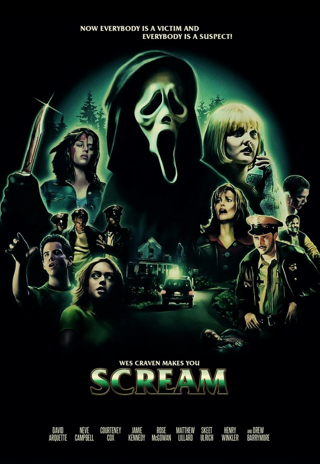 Poster Art List : Scream Ralf Krause
