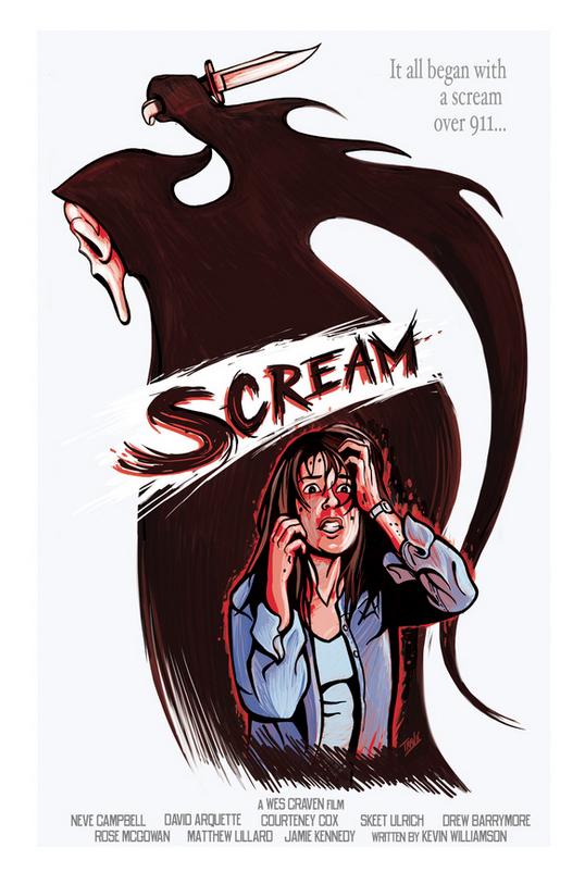 Poster Art List : Scream IBTrav