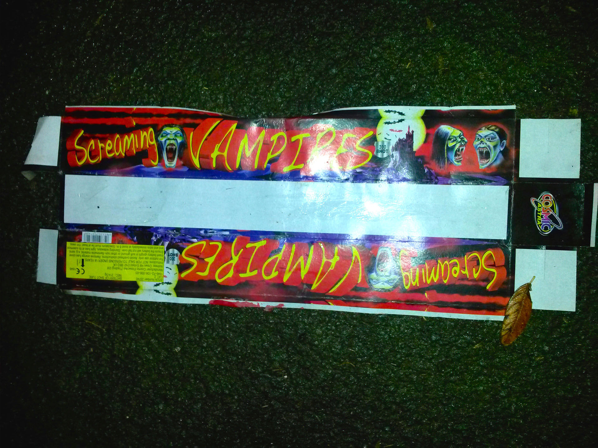Screaming Vampires Fireworks Pack