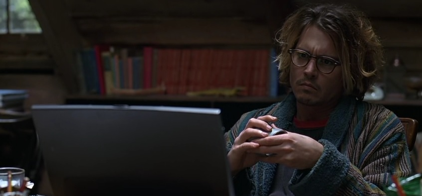 Secret Window Johnny Depp