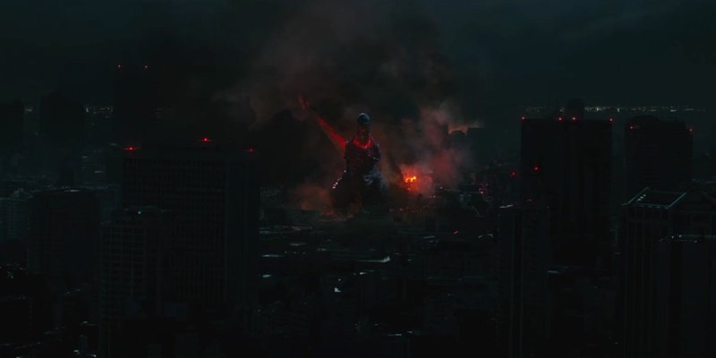 Shin Godzilla - City Burning