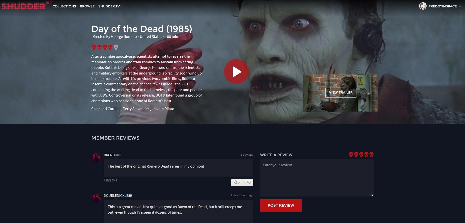 Netflix Horror Shudder