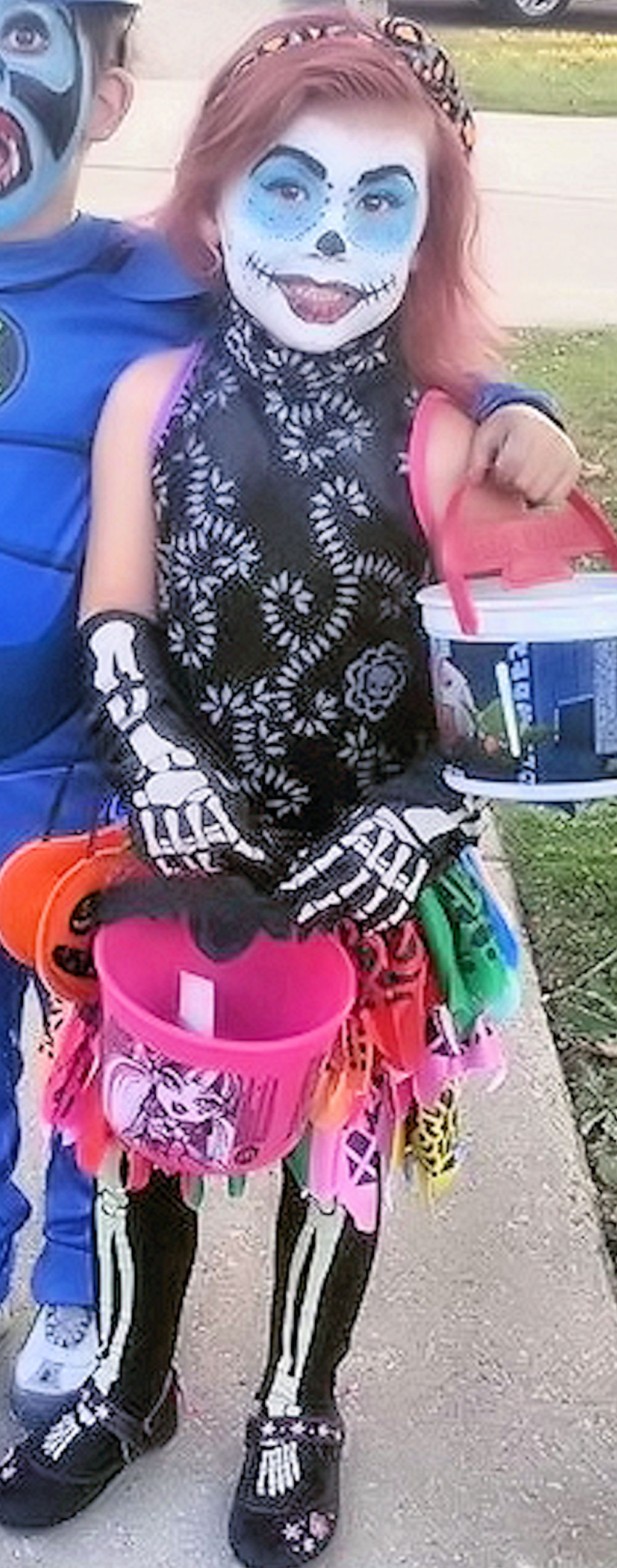 Halloween Costume Contest 2013 Halloween Love. SaveEnlarge · Monster High Skelita Calaveras ...  sc 1 st  Meningrey & Skelita Calaveras Halloween Costume - Meningrey